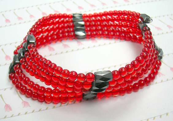 Gemstone hematite wrap gift shopping online wholesale