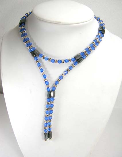 Magnetic hematite jewelry therapy supplier distribute blue rhine stones hematite necklace